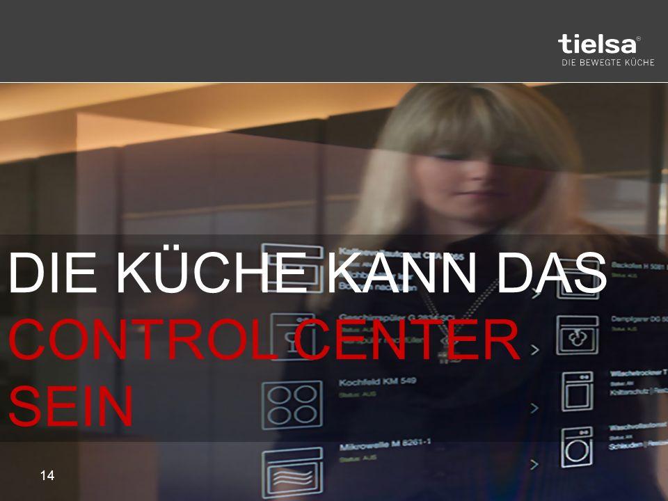 Christian Hartmannsgruber 15 EINE KÜCHE, die SICH DIR ANPASST