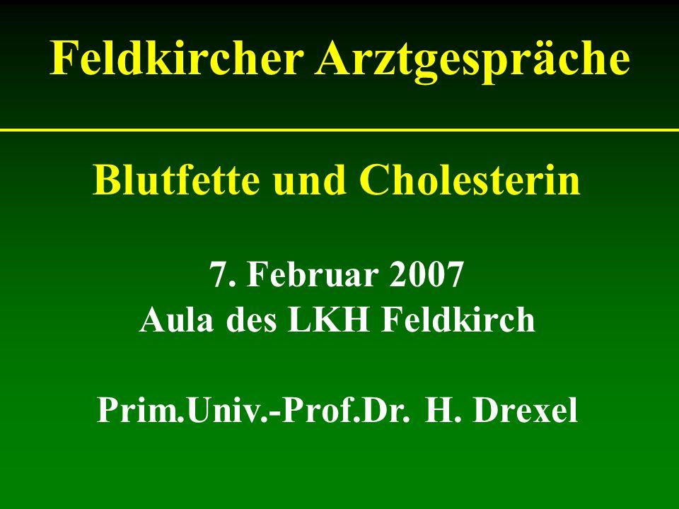 Über das Ziel hinaus therapiert: Hoher Blutdruck:Schwindel Diabetes:Unterzucker (Hypoglykämie) Cholesterin: Kann nicht zu nieder sein.