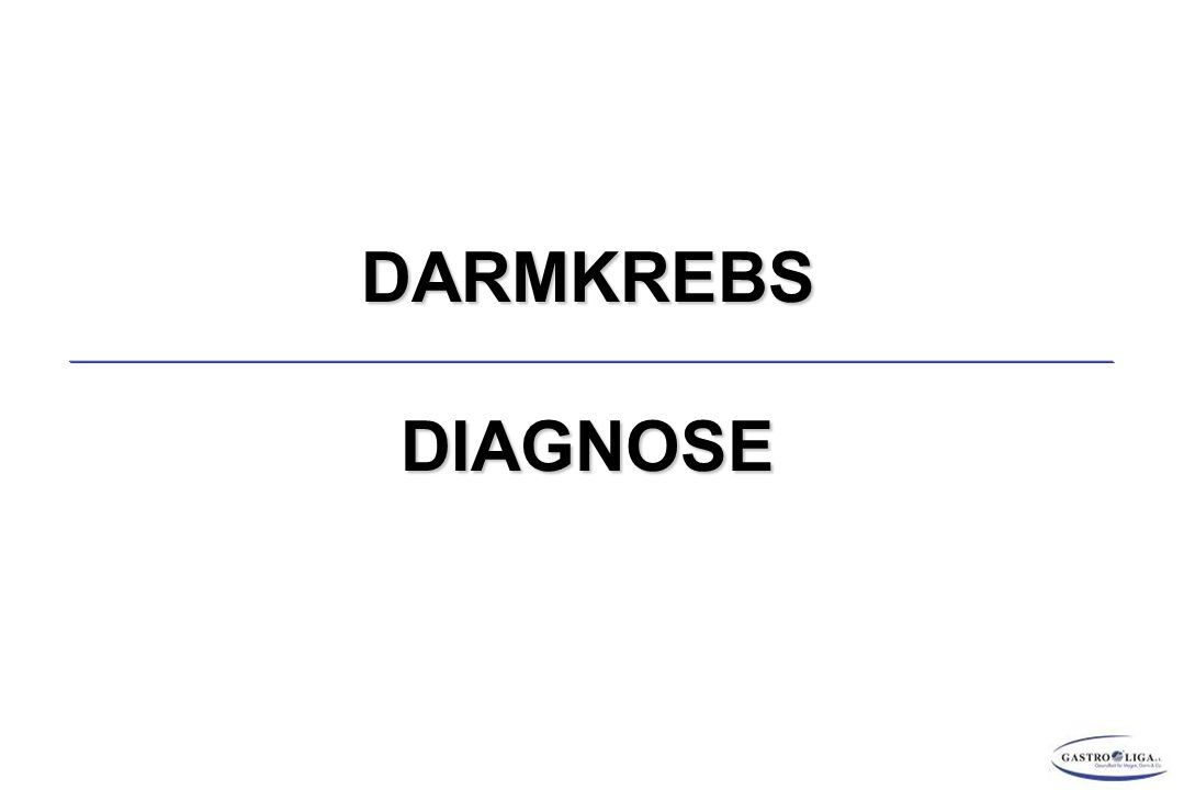 DARMKREBSDIAGNOSE