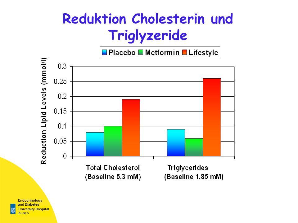 University Hospital Zurich Endocrinology and Diabetes Reduktion Cholesterin und Triglyzeride