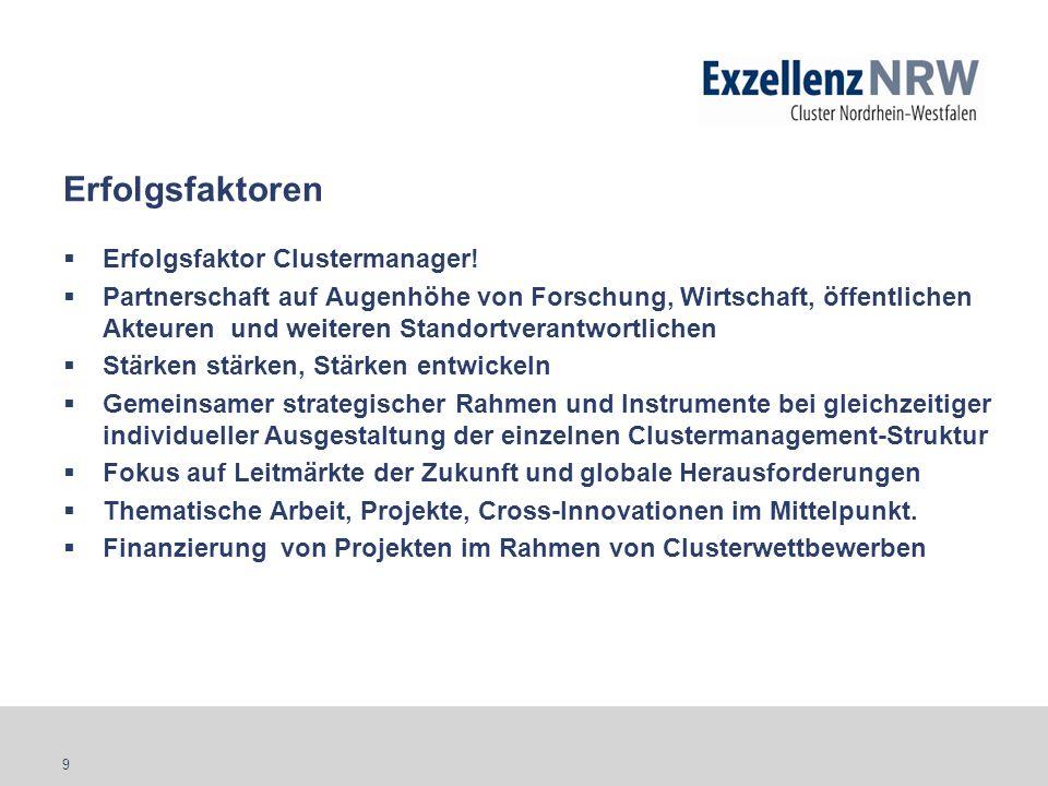 10 Get in contact with ExzellenzNRW! www.exzellenz.nrw.de