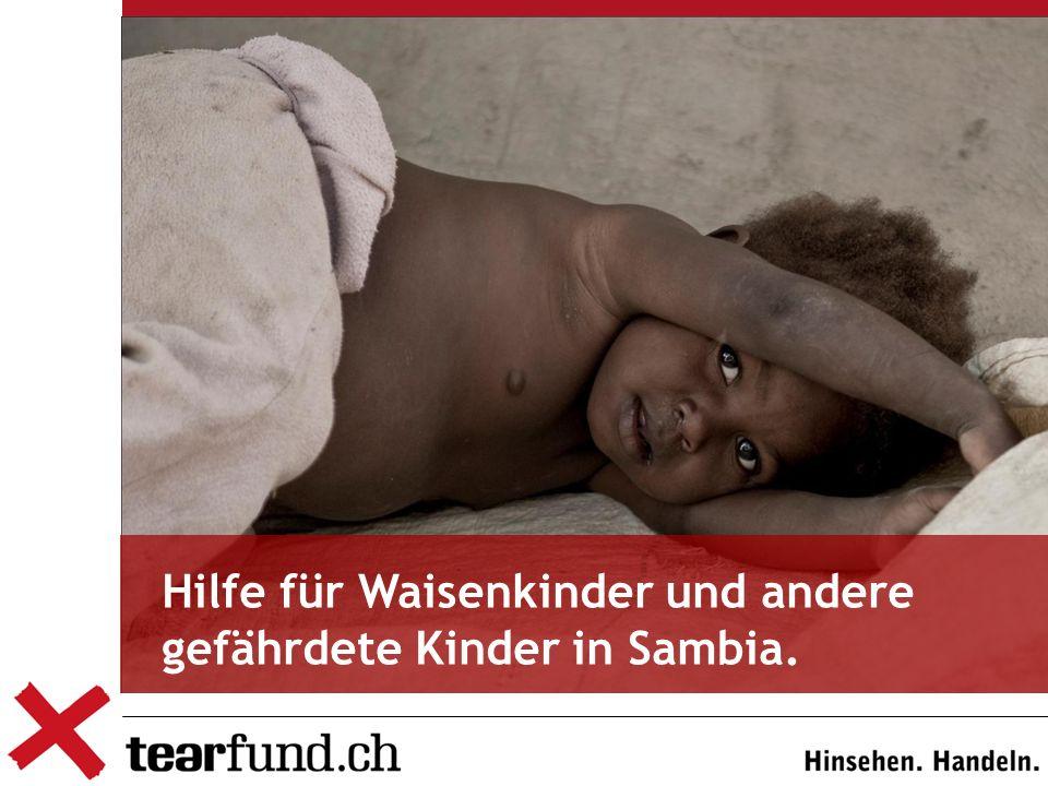 TearFund ist ein Hilfswerk der Schweizerischen Evangelischen Allianz