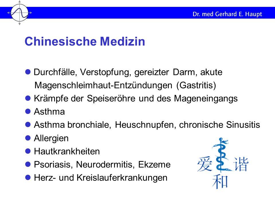 Durchfälle, Verstopfung, gereizter Darm, akute Magenschleimhaut-Entzündungen (Gastritis) Krämpfe der Speiseröhre und des Mageneingangs Asthma Asthma b