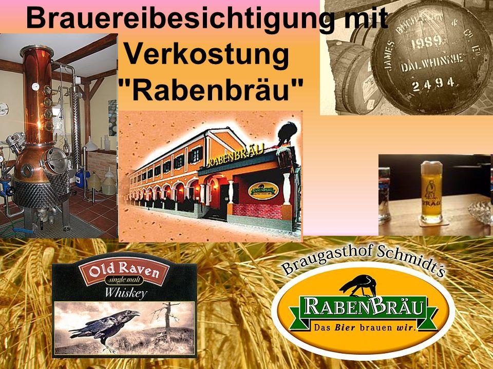 Brauereibesichtigung mit Verkostung Rabenbräu
