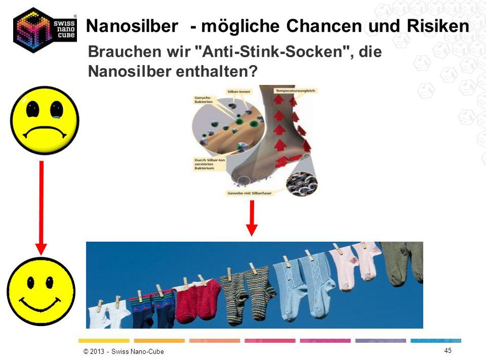 © 2013 - Swiss Nano-Cube Brauchen wir