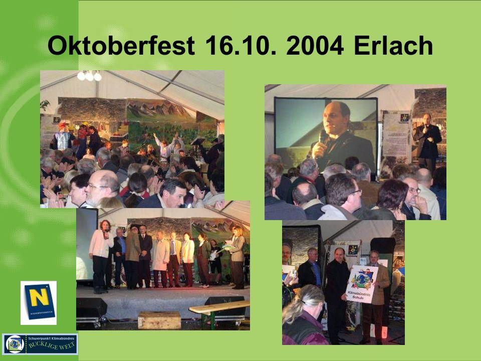 Oktoberfest 16.10. 2004 Erlach