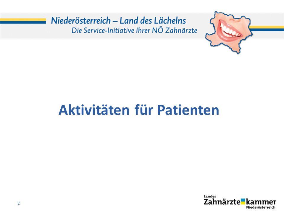 Aktivitäten für Patienten 2