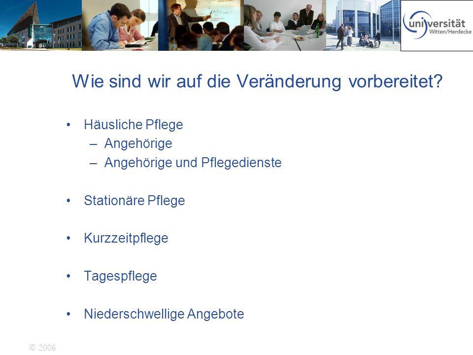 © 2006 9.743 stationäre Pflegeeinrichtungen 675.292 Bewohnerplätzen 511.000 Pflege- und Hilfskräfte arbeiten in den Pflegeheimen davon in Österreich ca 10%