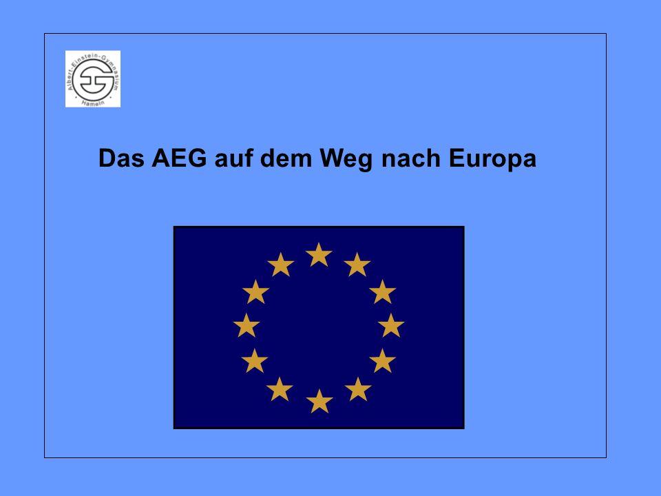 Das AEG auf dem Weg nach Europa