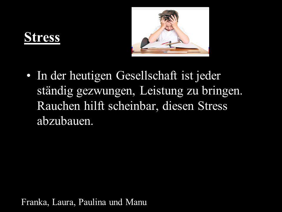 Stress In der heutigen Gesellschaft ist jeder ständig gezwungen, Leistung zu bringen.