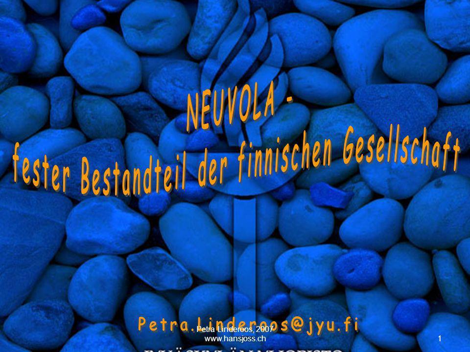 1 Petra Linderoos, 2007 www.hansjoss.ch