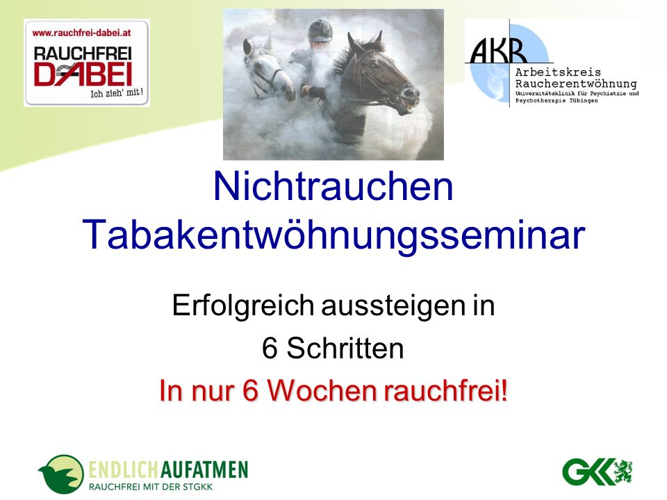 Seminarleiter Dr. Helmut Pailer Ärztlicher Dienst der Steiermärkischen Gebietskrankenkasse