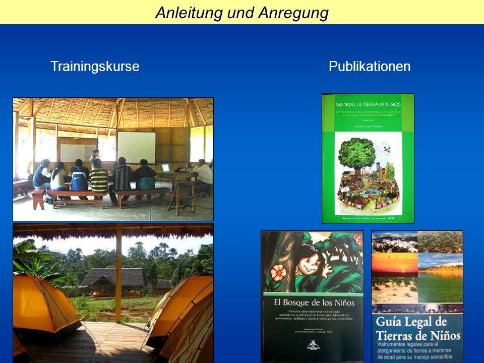 Anleitung und Anregung TrainingskursePublikationen