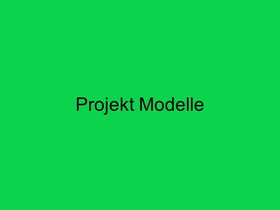 Projekt Modelle