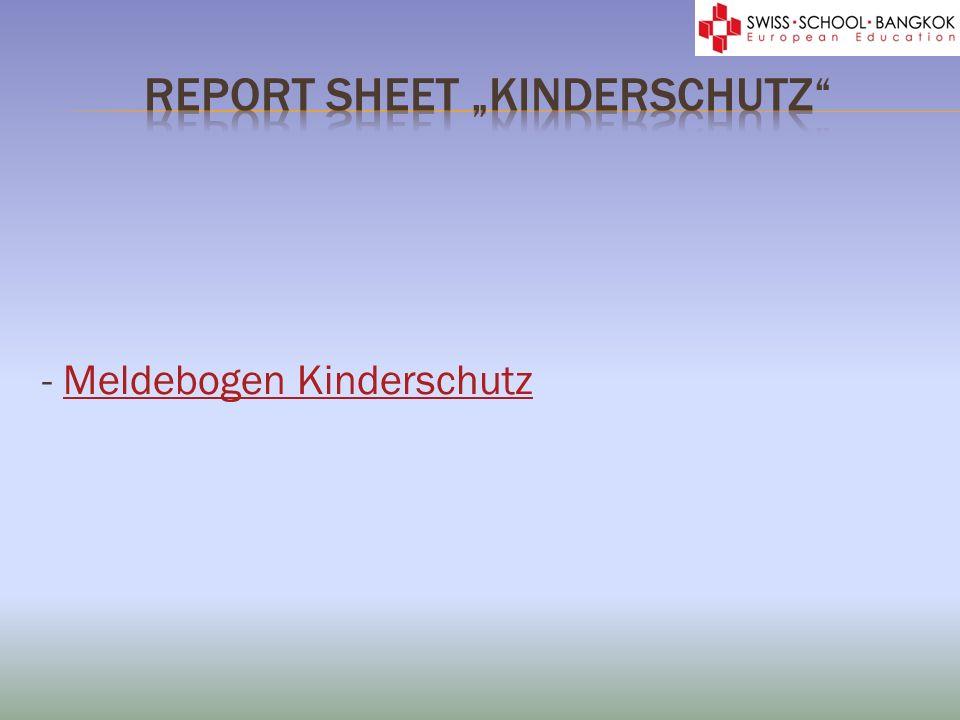 - Meldebogen KinderschutzMeldebogen Kinderschutz