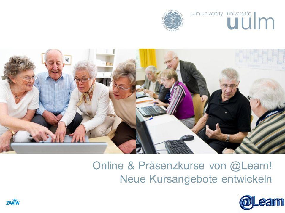 Online & Präsenzkurse von @Learn! Neue Kursangebote entwickeln ZAWiW - Titel