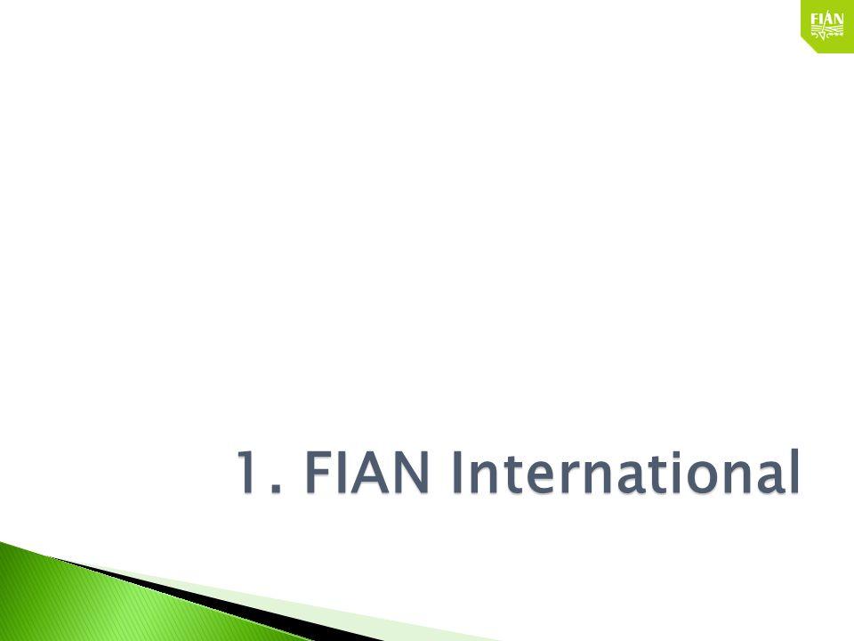FIAN hat es sich zur Aufgabe gemacht, das Menschenrecht auf angemessene Ernährung zu fördern und zu schützen: 500 Fälle von Verstößen sind dokumentiert, in 60 Ländern und in 25 Jahren.