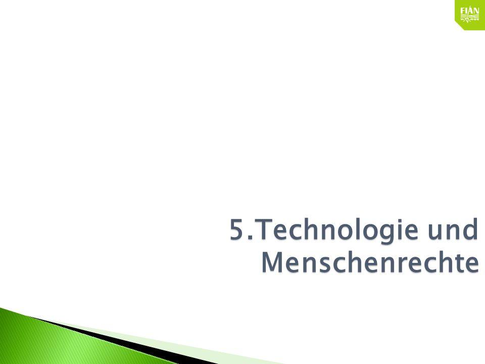 5.Technologie und Menschenrechte