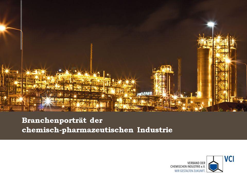 Branchenporträt der chemisch-pharmazeutischen Industrie