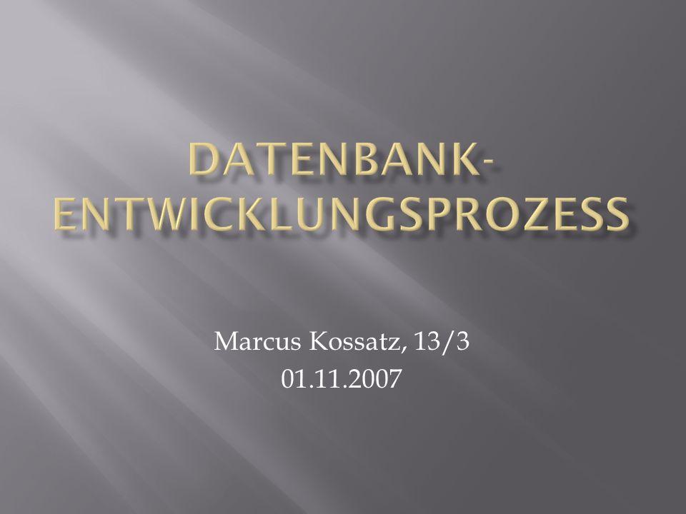 Marcus Kossatz, 13/3 01.11.2007