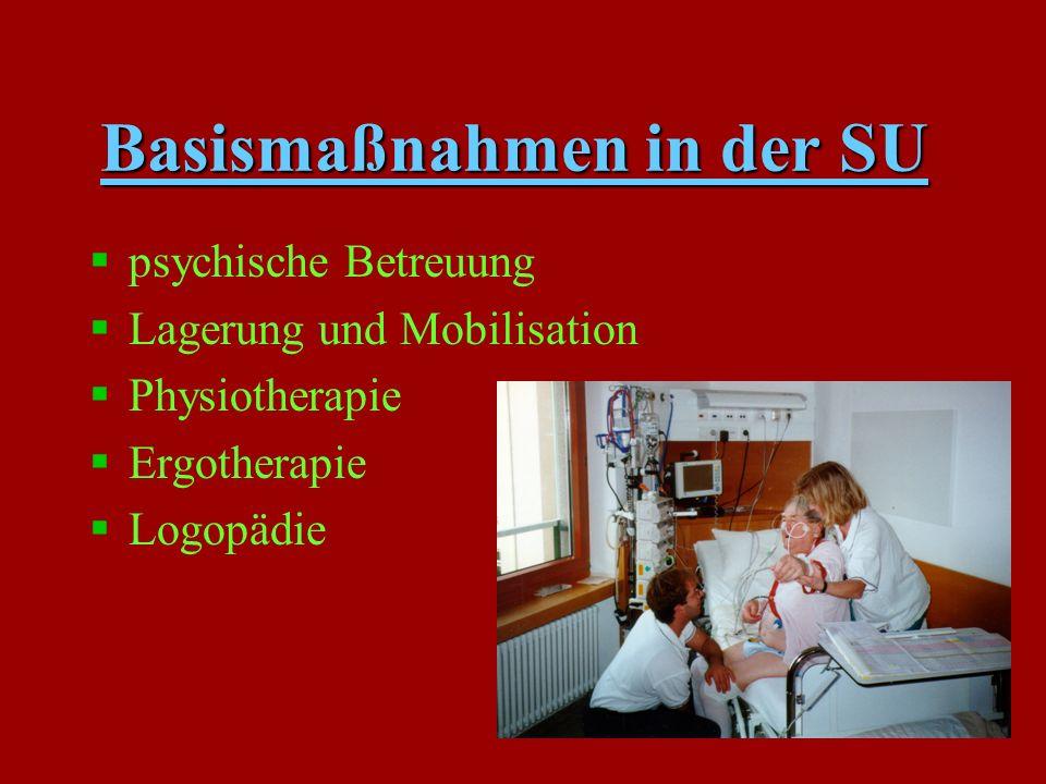 Weitere Aufgaben der Pflege in der SU §Vorbereitung und Betreuung von diagnost.und therapeutischen Eingriffen ( LP, TEE, MRT, ZVK-Anlage usw.