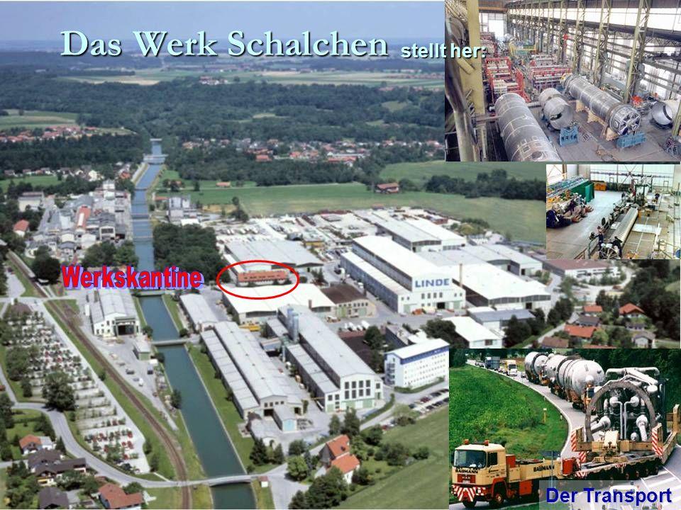 Das Werk Schalchen Der Transport stellt her: