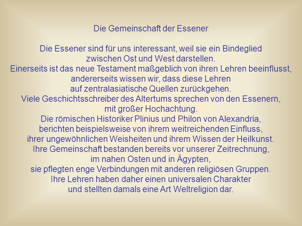 Der Lebensbaum der Essener.