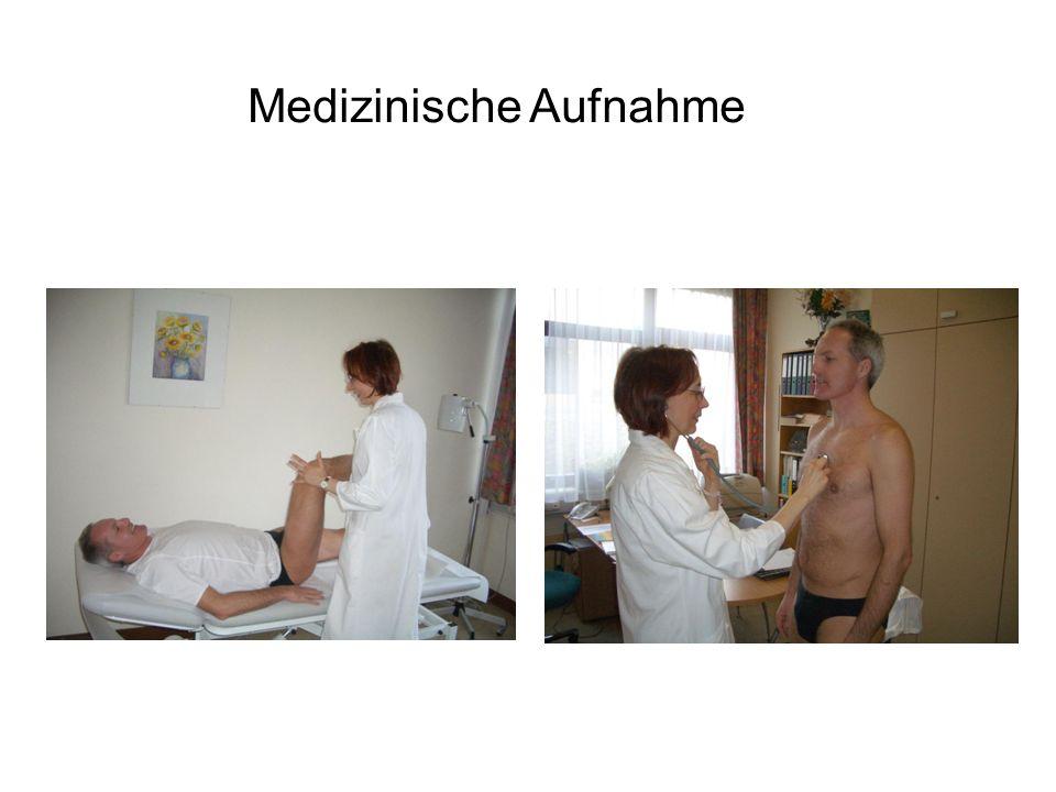 Medizinische Aufnahme