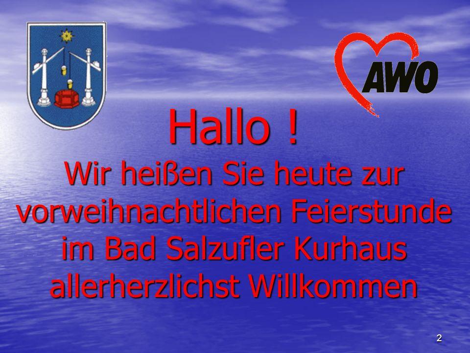 06. Dezember 2006 1 Ortsverein Bad Salzuflen e.V.