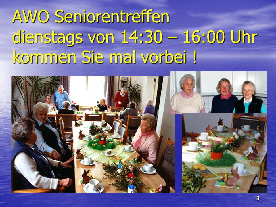 7 AWO Vorträge 2.tes Halbjahr 2006 Otto-Künne-Promenade 1 um 15:30 17.