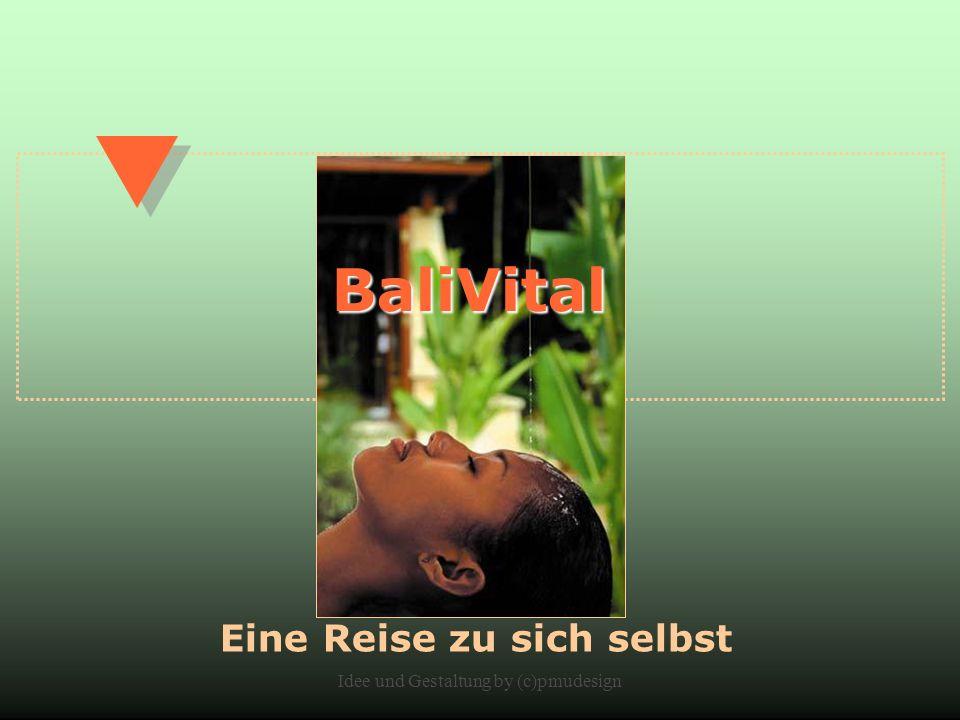 Idee und Gestaltung by (c)pmudesign BaliVital Eine Reise zu sich selbst