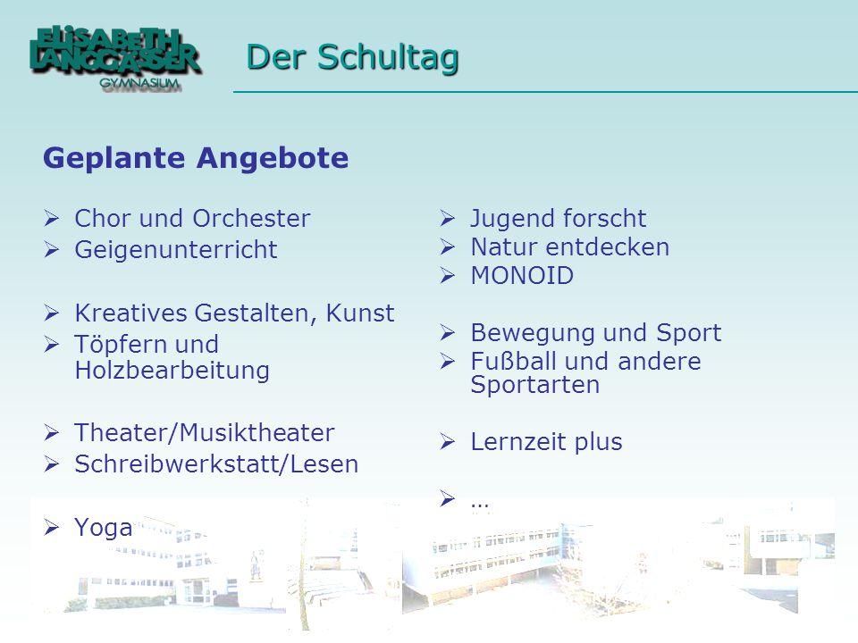Chor und Orchester Geigenunterricht Kreatives Gestalten, Kunst Töpfern und Holzbearbeitung Theater/Musiktheater Schreibwerkstatt/Lesen Yoga Jugend for