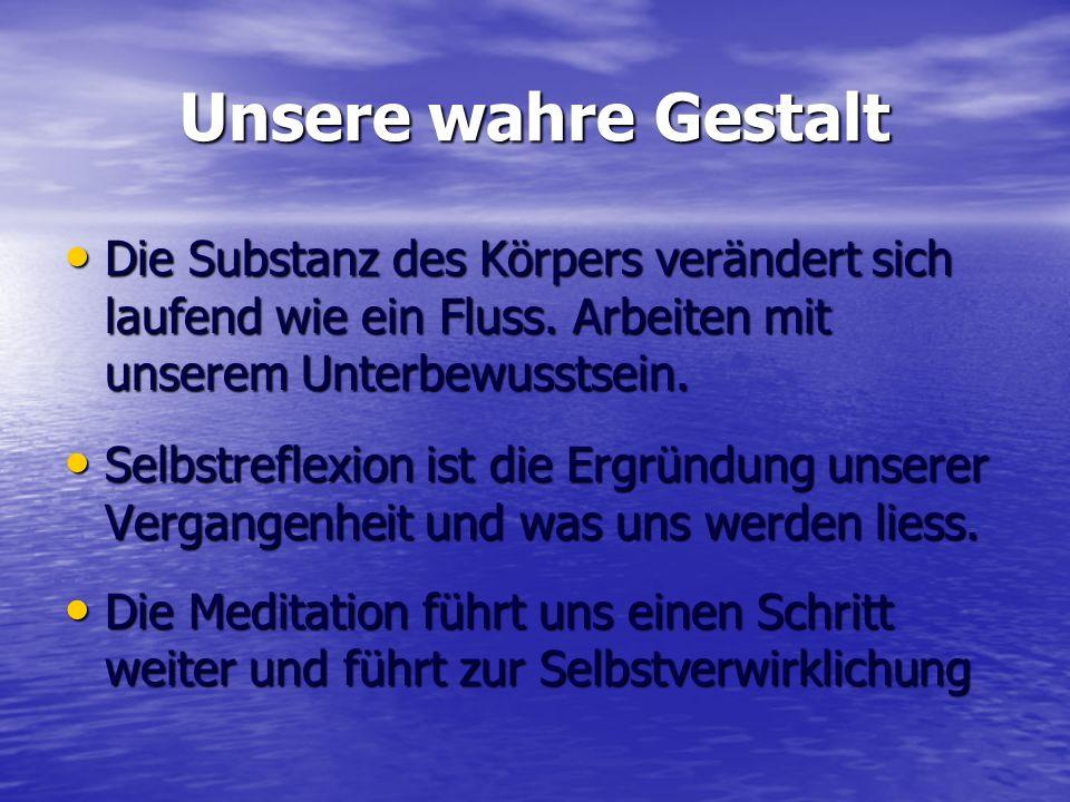 Praktische Meditation 3 Stufen der Meditation: 3 Stufen der Meditation: 1.