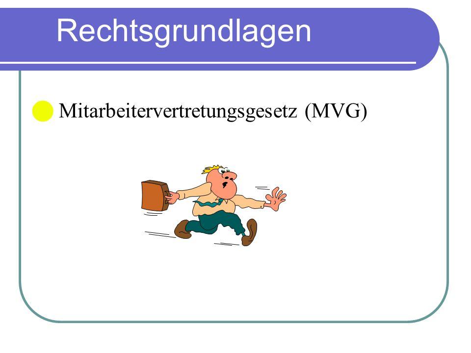 Mitarbeitervertretungsgesetz (MVG)