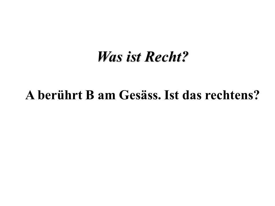 I.Selbstbestimmungsrecht A.Begriff und Umfang des Selbst- bestimmungsrechts B.