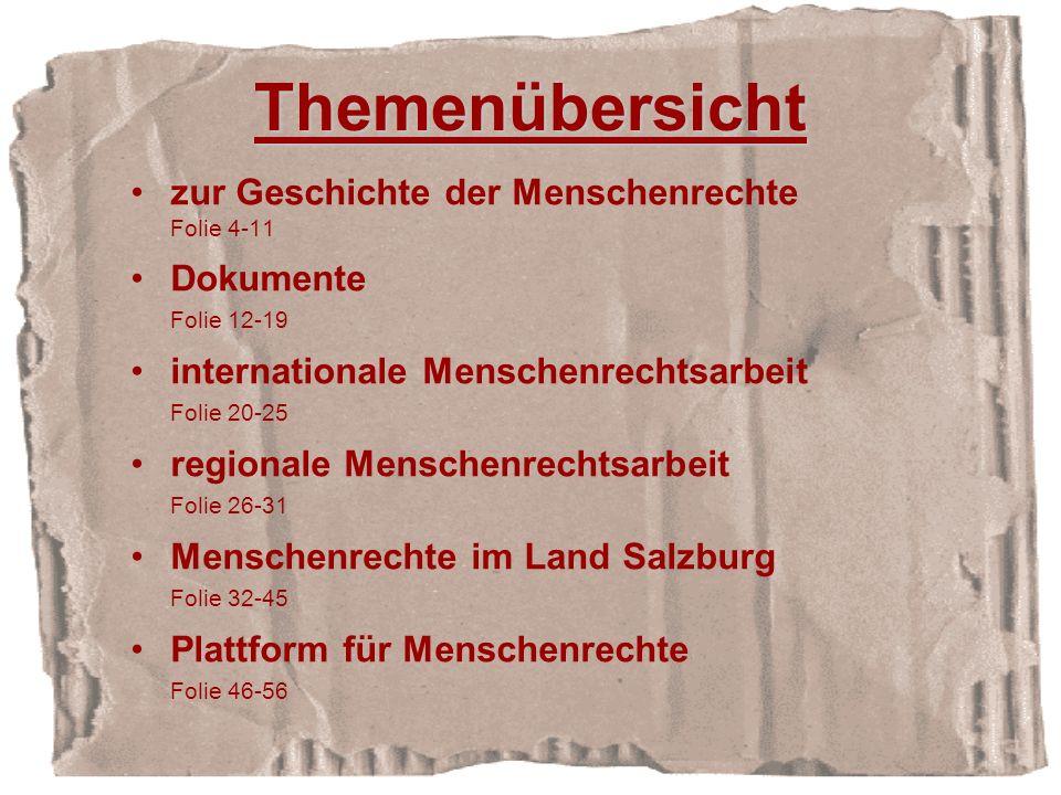 Europäische Menschenrechtskonvention 1953 Konvention des Europarates Katalog von Grundrechten und Menschenrechten Unterzeichnung: Beitrittsbedingung des Europarates Durchsetzung: Europäischer Gerichtshof für Menschenrechte in Straßburg