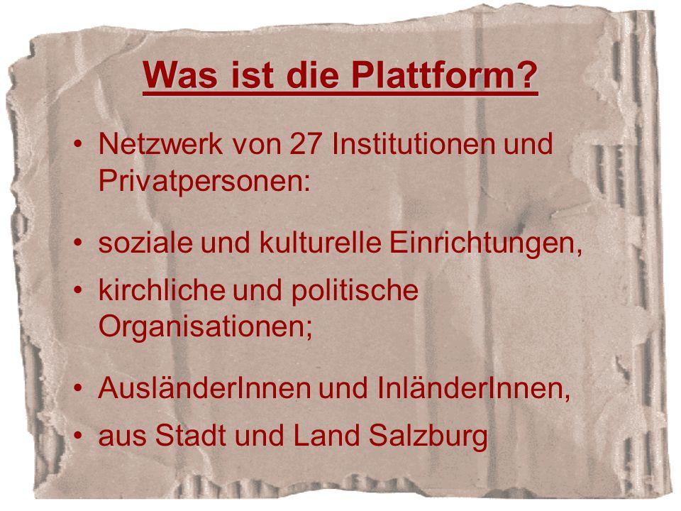 Was ist die Plattform.