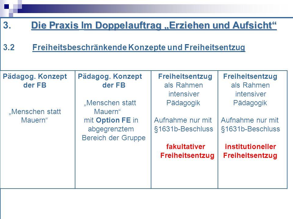 Die Praxism Doppelauftrag Erziehen und Aufsicht 3.