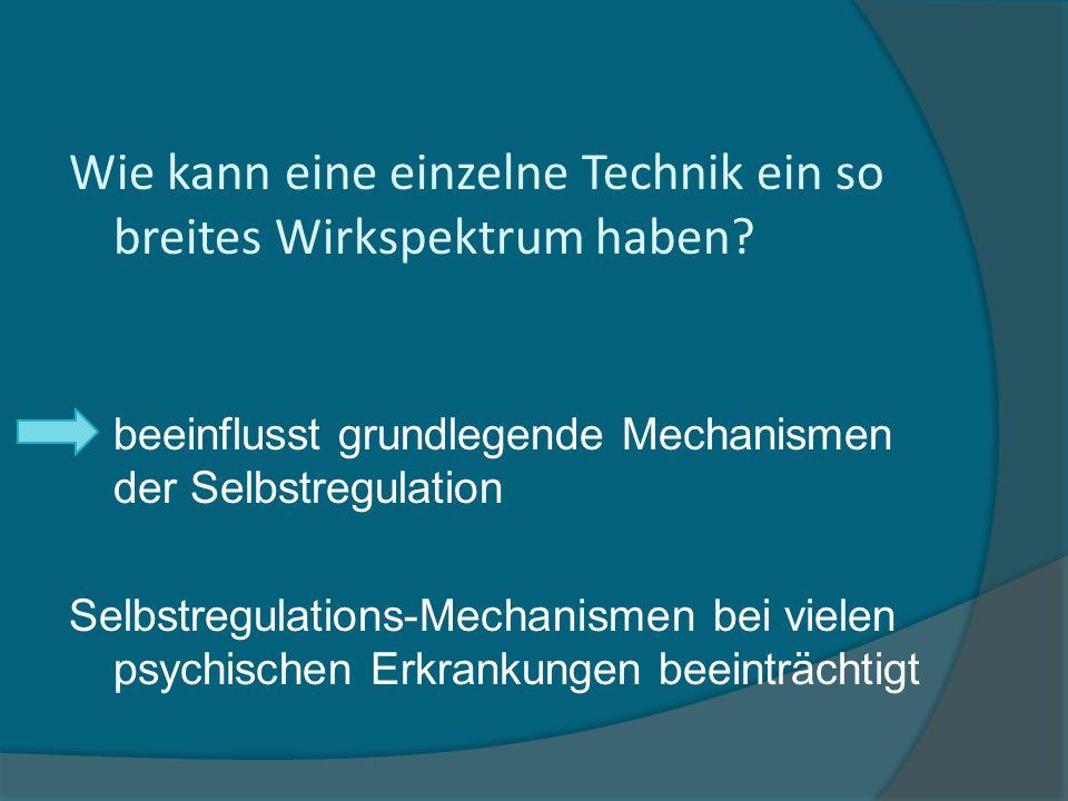 Selbst Extinktion Umdeutung Aufmerk- samkeit K ö rper- gewahrsein Achtsamkeits -meditation H ӧ lzel et al.