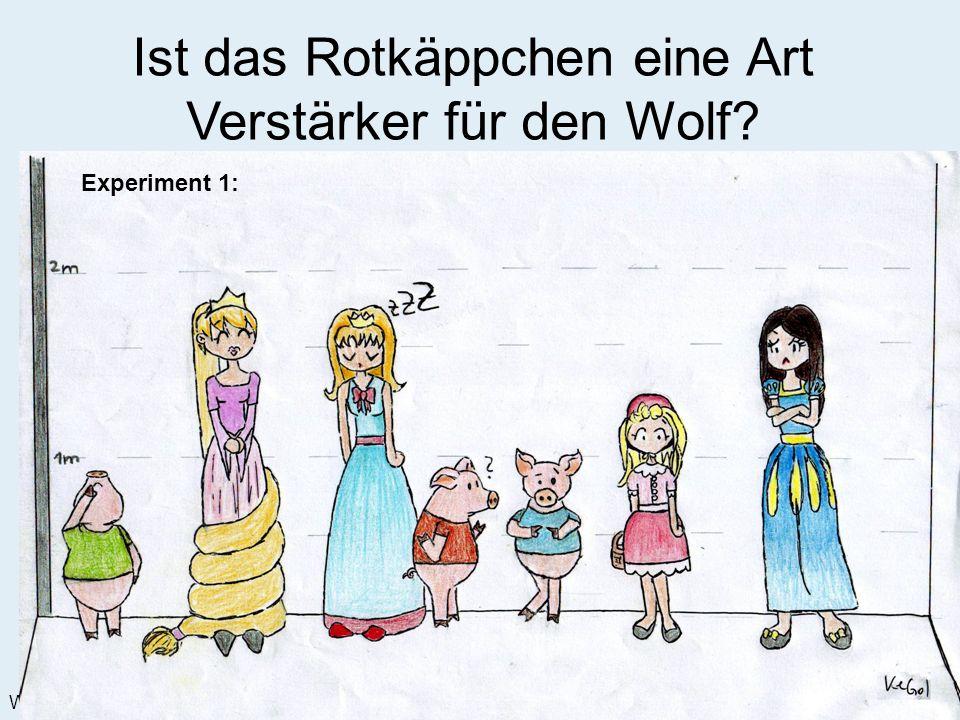 Märchenland Institute for Fairy Tales Weihnachtssemester 2008 – Scholl, Watzek, Lwow Ist das Rotkäppchen eine Art Verstärker für den Wolf.