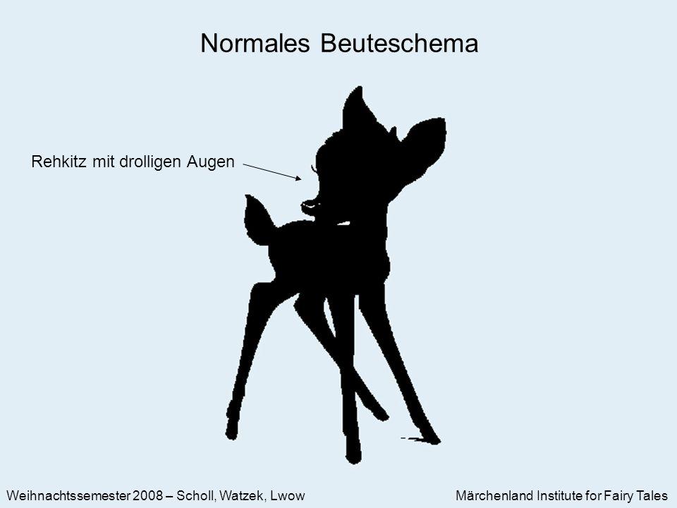 Märchenland Institute for Fairy Tales Weihnachtssemester 2008 – Scholl, Watzek, Lwow Rehkitz mit drolligen Augen Normales Beuteschema