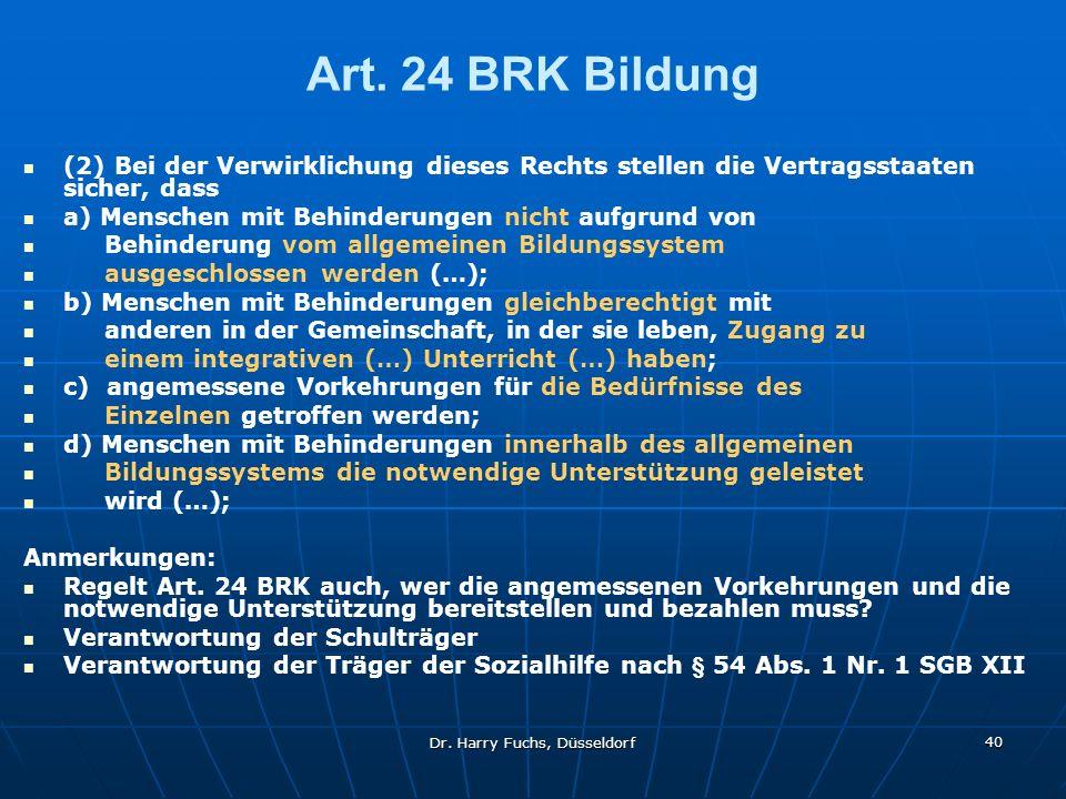 Dr.Harry Fuchs, Düsseldorf 40 Art.