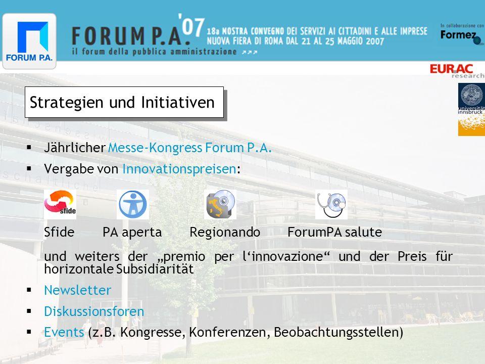 Messe-Kongress Forum P.A.Findet jedes Jahr, bereits zum 18.