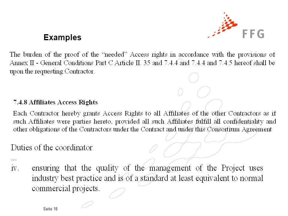 Seite 17 Examples