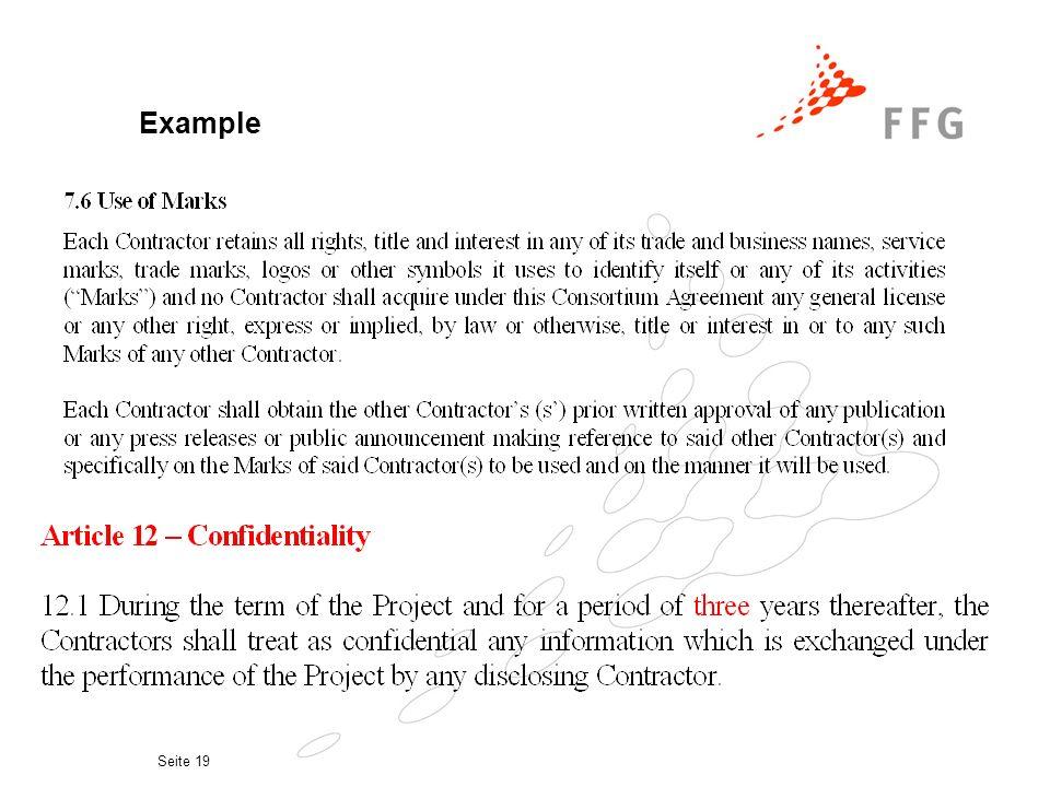 Seite 18 Examples