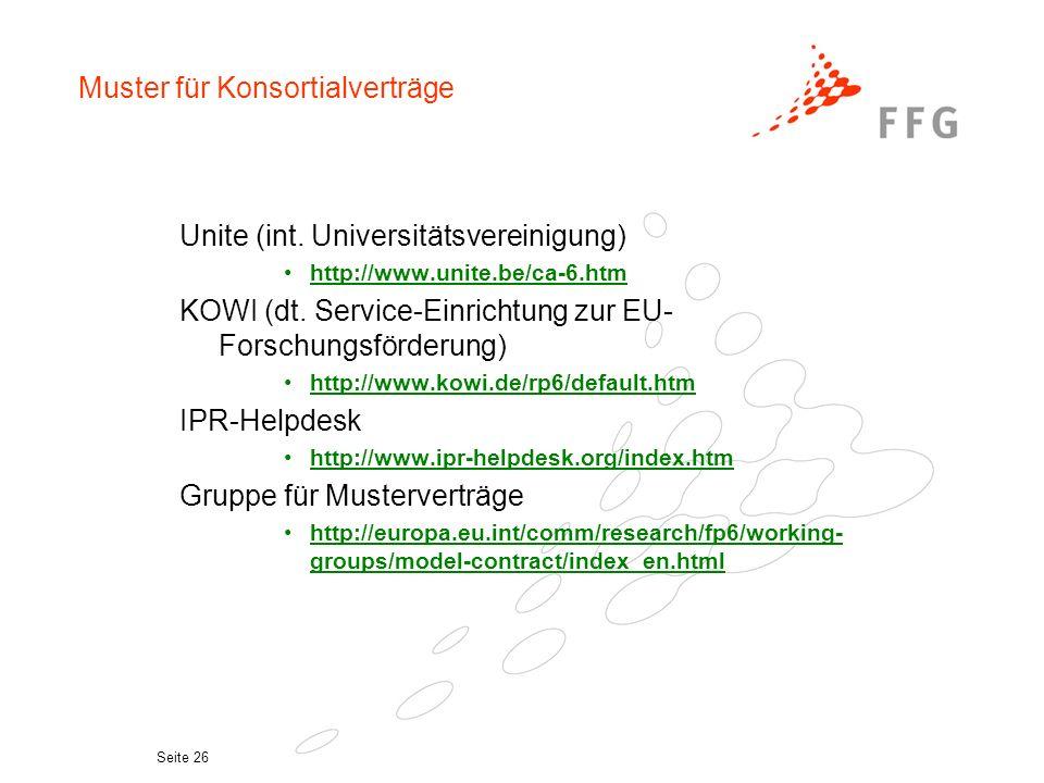 Seite 25 www.ipr-helpdesk.org