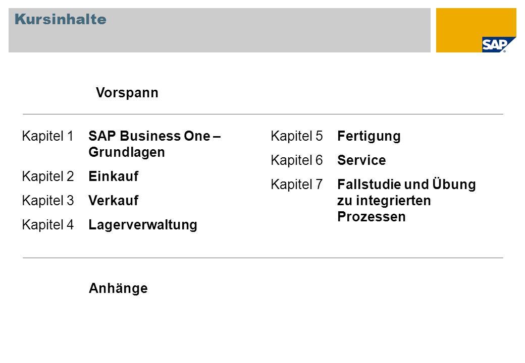 Als Partner oder Kunde von SAP Business One möchten Sie Logistikprozesse und -konfiguration kennen lernen, um genauer zu verstehen, wie Sie und Ihre Kunden die entsprechenden Funktionen für sich nutzen können.