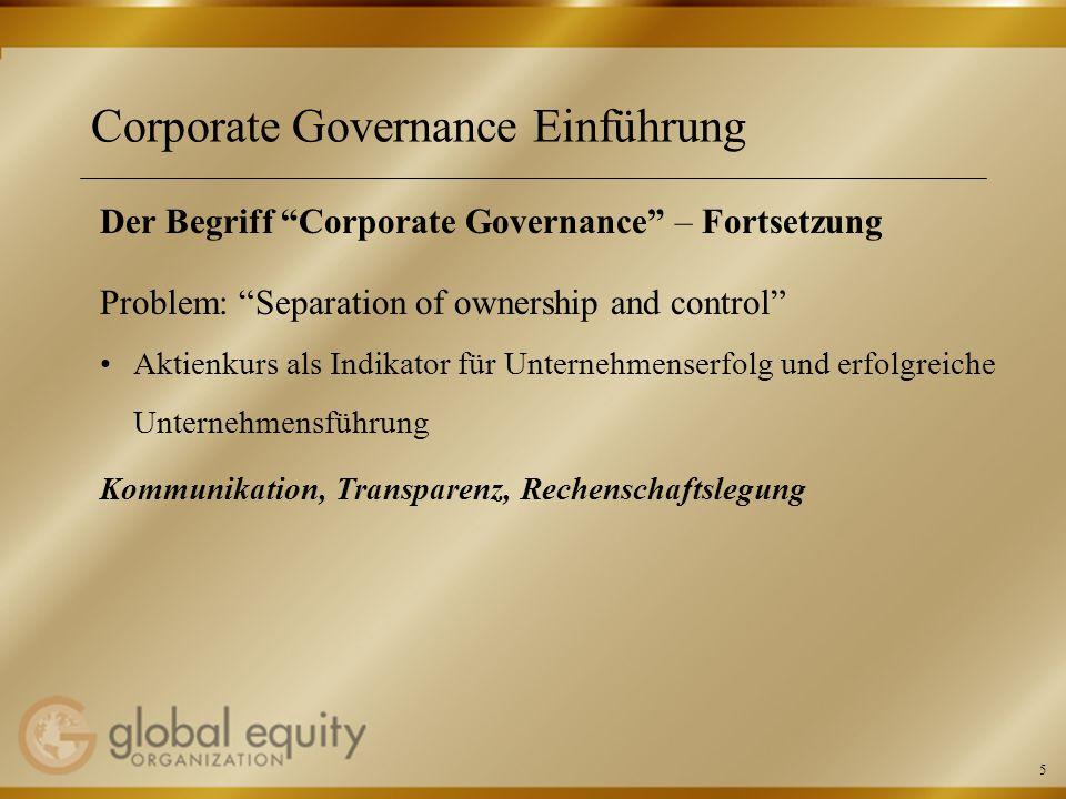 16 Mitarbeiterbeteiligung und Corporate Governance Aktuelle Entwicklungen – 10-Punkte-Papier Angemessenheit von Optionsplänen Angemessenheitsgebot des § 87 Abs.