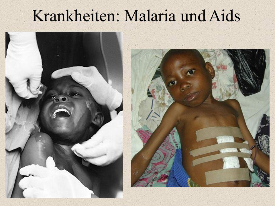 Krankheiten: Malaria und Aids