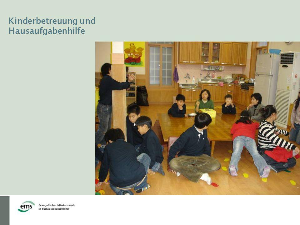 Kinderbetreuung und Hausaufgabenhilfe